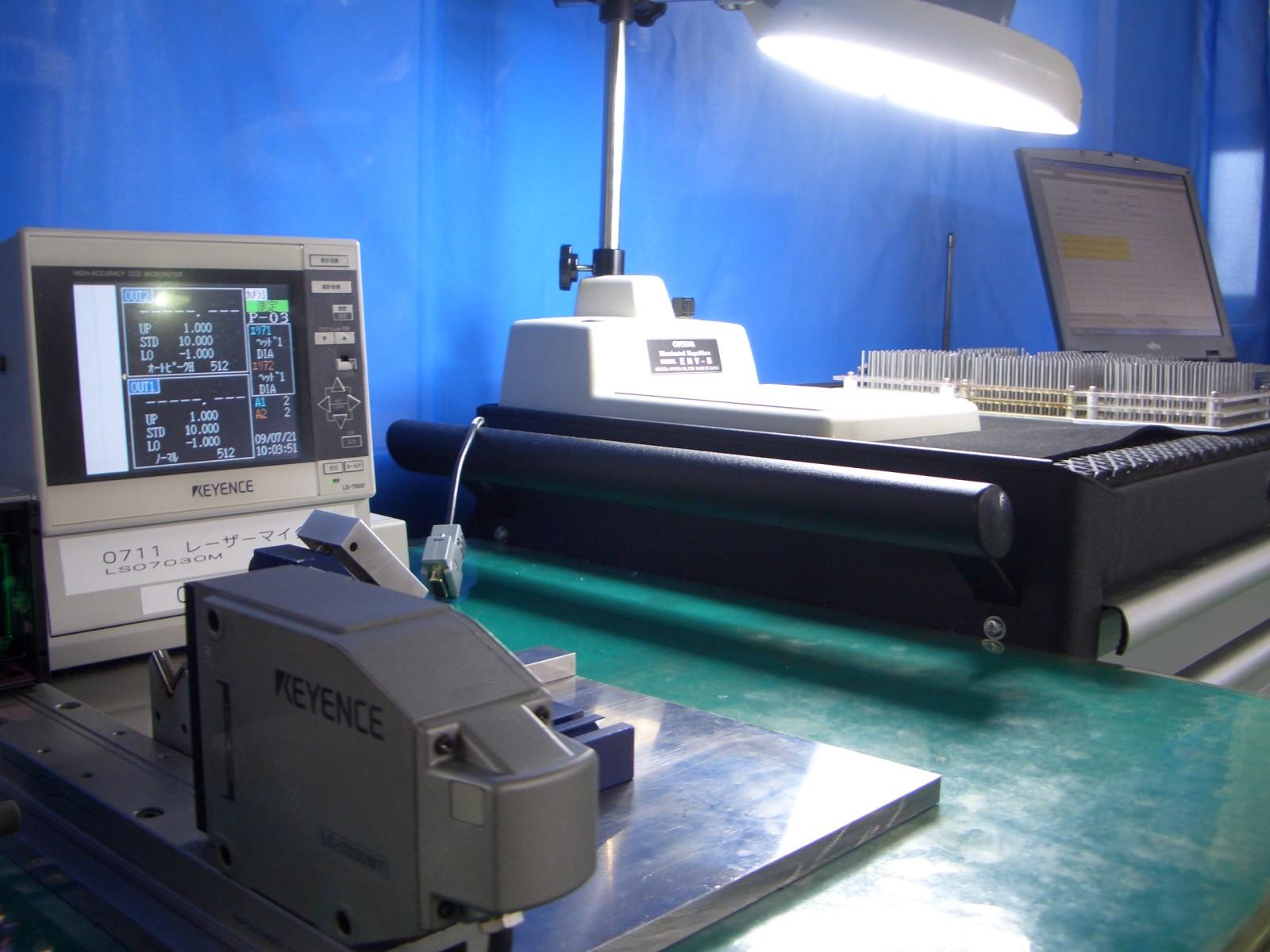 豊富なエンドミル、ドリル、切削工具の精密検査設備