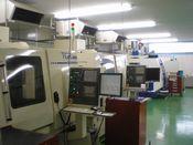 エンドミルなど切削工具の製造現場
